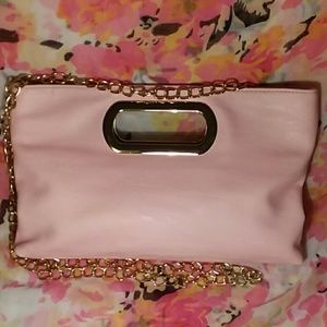 💖 Charming Charlie pink purse